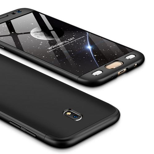 Θήκη GKK Full body Protection 360° από σκληρό πλαστικό για Samsung Galaxy J7 (2017) μαύρο