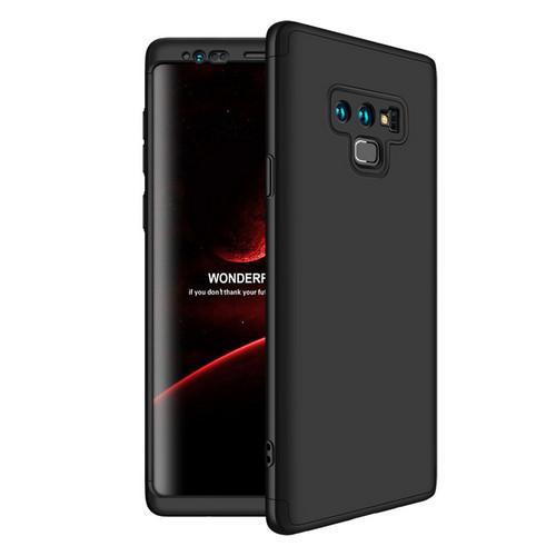 Θήκη GKK Full body Protection 360° από σκληρό πλαστικό για Samsung Galaxy Note 9 μαύρο