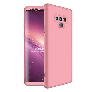 Θήκη GKK Full body Protection 360° από σκληρό πλαστικό για Samsung Galaxy Note 9 ροζ χρυσό