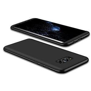 Θήκη GKK Full body Protection 360° από σκληρό πλαστικό για Samsung Galaxy S8 μαύρο