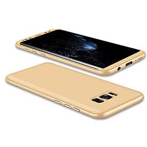 Θήκη GKK Full body Protection 360° από σκληρό πλαστικό για Samsung Galaxy S8 χρυσό