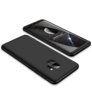 Θήκη GKK Full body Protection 360° από σκληρό πλαστικό για Samsung Galaxy S9 μαύρο