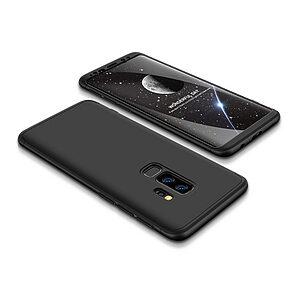Θήκη GKK Full body Protection 360° από σκληρό πλαστικό για Samsung Galaxy S9 Plus μαύρο