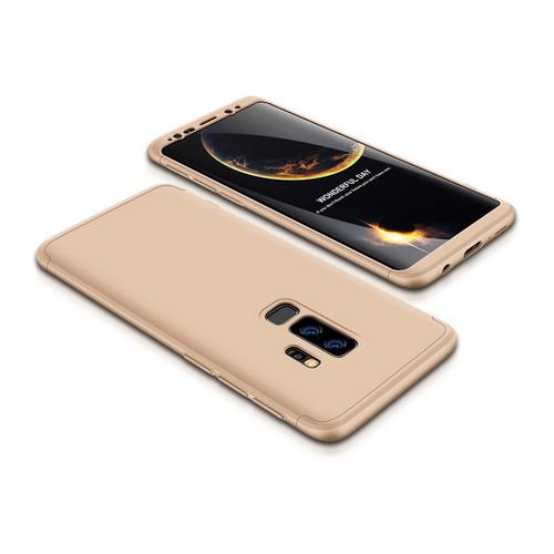 Θήκη GKK Full body Protection 360° από σκληρό πλαστικό για Samsung Galaxy S9 Plus χρυσό