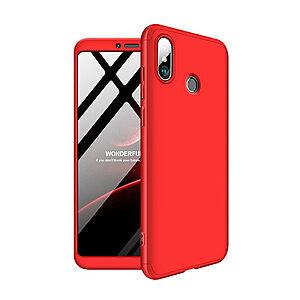 Θήκη GKK Full body Protection 360° από σκληρό πλαστικό για Xiaomi Mi Max 3 κόκκινο