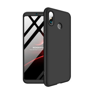 Θήκη GKK Full body Protection 360° από σκληρό πλαστικό για Xiaomi Mi Max 3 μαύρο