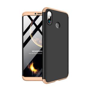Θήκη GKK Full body Protection 360° από σκληρό πλαστικό για Xiaomi Mi Max 3 μαύρο / χρυσό