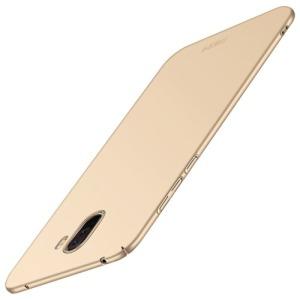 Θήκη Xiaomi Pocophone F1 MOFI Shield Slim Series πλάτη από σκληρό πλαστικό χρυσό