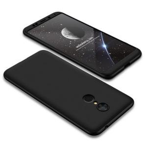 Θήκη GKK Full body Protection 360° από σκληρό πλαστικό για Xiaomi Redmi 5 μαύρο