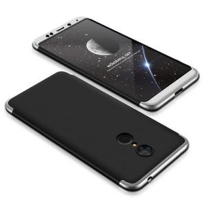 Θήκη GKK Full body Protection 360° από σκληρό πλαστικό για Xiaomi Redmi 5 μαύρο / ασημί