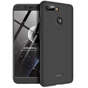 Θήκη GKK Full body Protection 360° από σκληρό πλαστικό για Xiaomi Redmi 6 μαύρο
