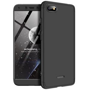 Θήκη GKK Full body Protection 360° από σκληρό πλαστικό για Xiaomi Redmi 6A μαύρο