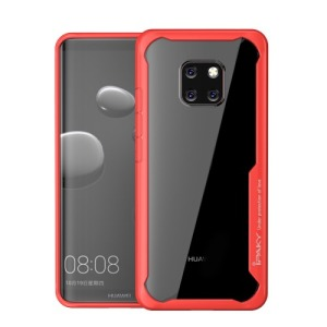 Θήκη HUAWEI Mate 20 Pro IPAKY Drop Proof + TPU Combo πλάτη κόκκινο