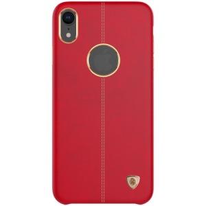 Θήκη iPhone XR NiLLkin Englon Series πλάτη δερματίνη κόκκινο