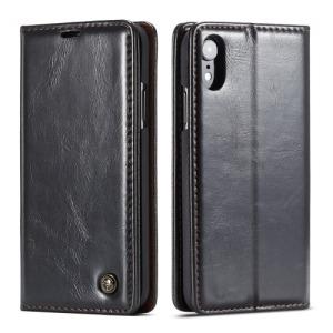 Θήκη iPhone XR CASEME Oil Wax Series με βάση στήριξης