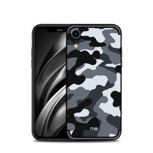 Θήκη iPhone XR NXE Camouflage Series πλάτη TPU γκρι