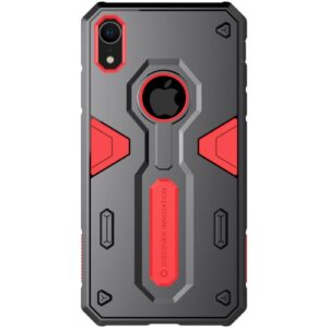Θήκη iPhone XR NiLLkin Defender II Series πλάτη TPU κόκκινο