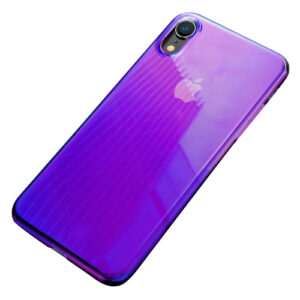 Θήκη iPhone XR BASEUS Glow Case Series πλάτη TPU μαύρο