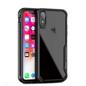 Θήκη iPhone XR IPAKY Drop Proof + TPU Combo πλάτη TPU μαύρο