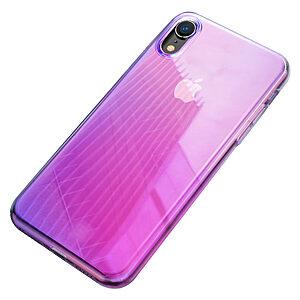 Θήκη iPhone XR BASEUS Glow Case Series πλάτη TPU ροζ
