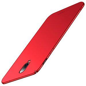 Θήκη OnePlus 6T MOFI Shield Slim Series πλάτη από σκληρό πλαστικό κόκκινο
