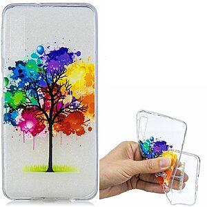 Θήκη Samsung Galaxy A7 (2018) OEM σχέδιο Paint tree πλάτη TPU