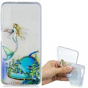 Θήκη Samsung Galaxy A7 (2018) OEM σχέδιο Mermaid πλάτη TPU