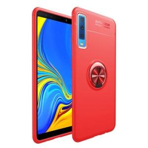 Θήκη Samsung Galaxy A7 (2018) OEM Magnetic Ring Kickstand πλάτη TPU κόκκινο
