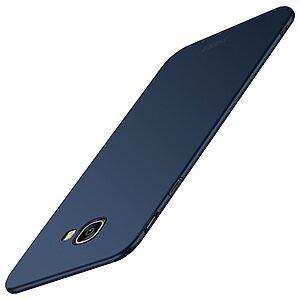 Θήκη Samsung Galaxy J4 Plus MOFI Shield Slim Series πλάτη από σκληρό πλαστικό μπλε