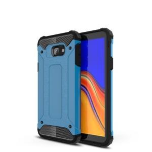 Θήκη Samsung Galaxy J4 Plus OEM Armor Guard Hybrid από σκληρό πλαστικό και TPU γαλάζιο