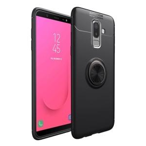 Θήκη Samsung Galaxy J4 Plus OEM Magnetic Ring Kickstand πλάτη TPU μαύρο