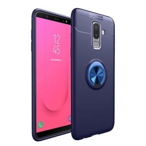 Θήκη Samsung Galaxy J4 Plus OEM Magnetic Ring Kickstand πλάτη TPU μπλε