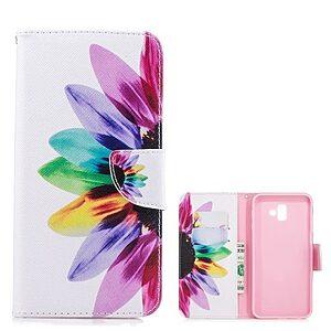 Θήκη Samsung Galaxy J6 Plus OEM Colorful Petals με βάση στήριξης