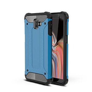Θήκη Samsung Galaxy J6 Plus OEM Armor Guard Hybrid από σκληρό πλαστικό και TPU γαλάζιο
