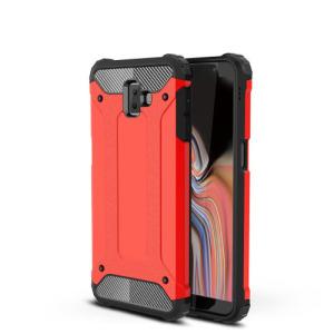 Θήκη Samsung Galaxy J6 Plus OEM Armor Guard Hybrid από σκληρό πλαστικό και TPU κόκκινο