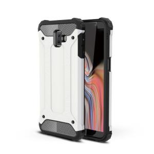 Θήκη Samsung Galaxy J6 Plus OEM Armor Guard Hybrid από σκληρό πλαστικό και TPU λευκό
