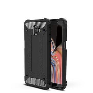 Θήκη Samsung Galaxy J6 Plus OEM Armor Guard Hybrid από σκληρό πλαστικό και TPU μαύρο