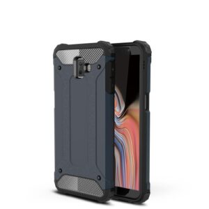Θήκη Samsung Galaxy J6 Plus OEM Armor Guard Hybrid από σκληρό πλαστικό και TPU μπλε