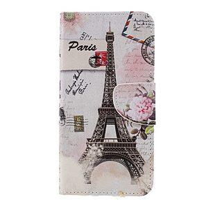 Θήκη SONY Xperia XZ3 OEM σχέδιο Eiffel Tower Paris με βάση στήριξης