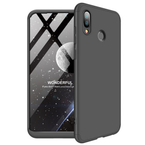 Θήκη Huawei Honor Play GKK Full body Protection 360° από σκληρό πλαστικό μαύρο