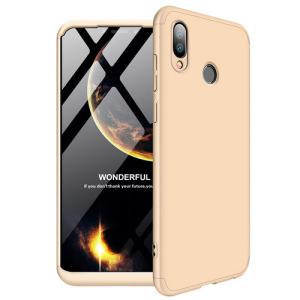 Θήκη Huawei Honor Play GKK Full body Protection 360° από σκληρό πλαστικό χρυσό