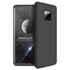 Θήκη Huawei Mate 20 Pro GKK Full body Protection 360° από σκληρό πλαστικό μαύρο