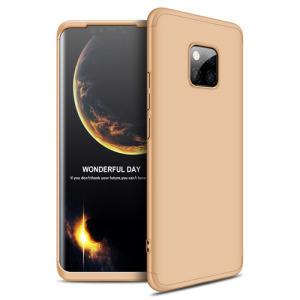 Θήκη Huawei Mate 20 Pro GKK Full body Protection 360° από σκληρό πλαστικό χρυσό