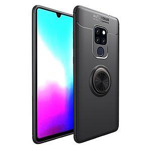 Θήκη Huawei Mate 20 OEM Magnetic Ring Kickstand Πλάτη TPU μαύρο