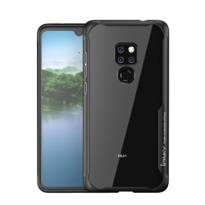 Θήκη Huawei Mate 20 IPAKY Drop Proof + TPU Combo Πλάτη TPU μαύρο