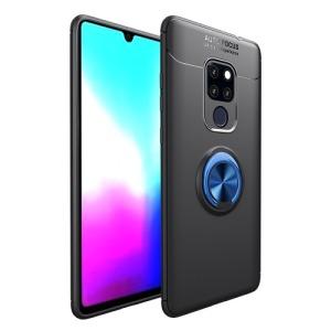 Θήκη Huawei Mate 20 OEM Magnetic Ring Kickstand Πλάτη TPU μαύρο / μπλε