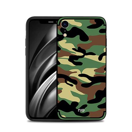 Θήκη iPhone XR NXE Camouflage Series Πλάτη TPU πράσινο