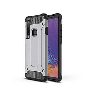 Θήκη Samsung Galaxy A9 (2018) OEM Armor Guard Hybrid από σκληρό πλαστικό και TPU γκρι