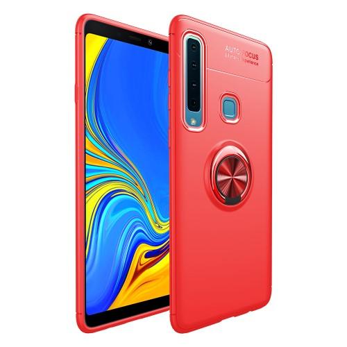 Θήκη Samsung Galaxy A9 (2018) OEM Magnetic Ring Kickstand Πλάτη TPU κόκκινο