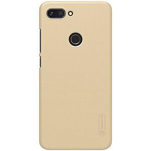 Θήκη Xiaomi Mi 8 Lite NiLLkin Super Frosted Shield Series Πλάτη από σκληρό πλαστικό χρυσό